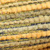 New Textiles: Danzome Dyed Raw Silk Floss Weave
